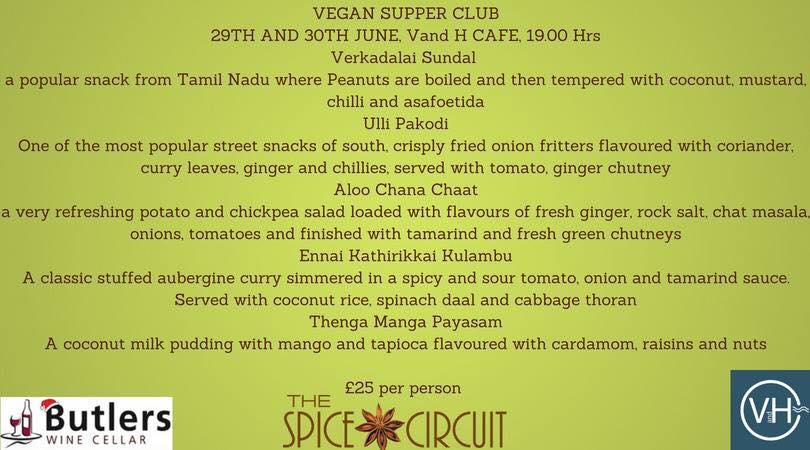 The Spice Circuit Vegan Pop Up